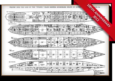 Titanic Deck Plans